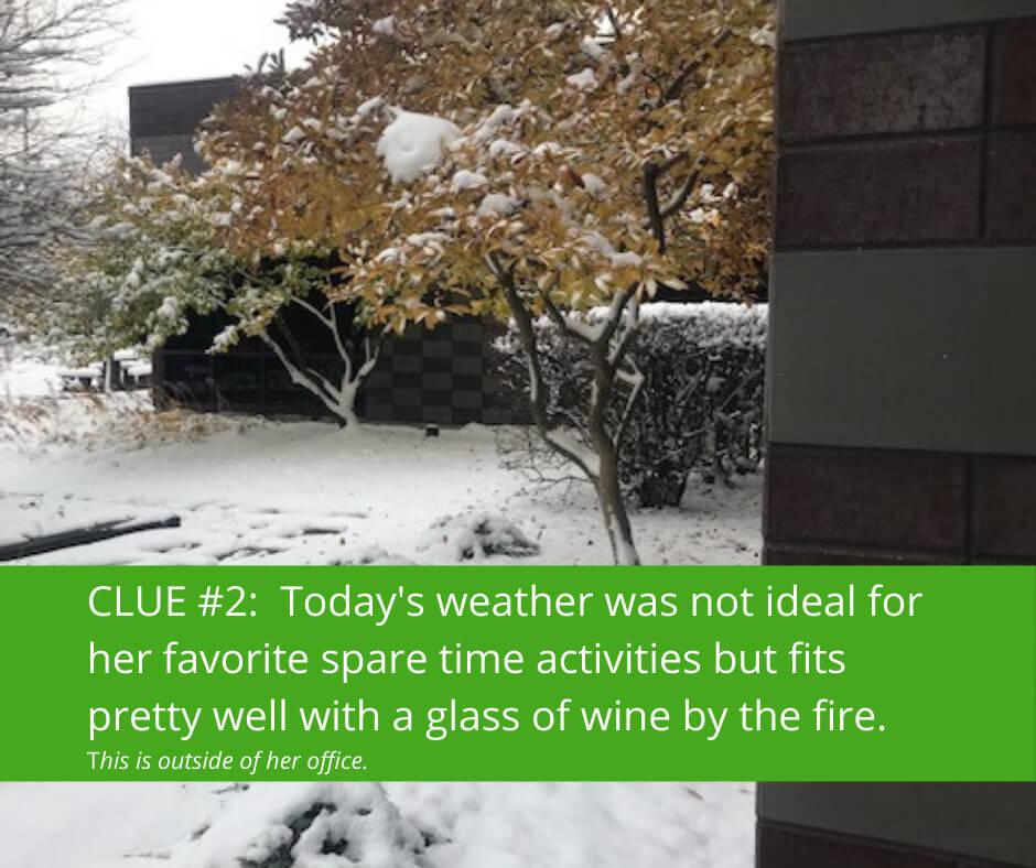 Mystery Alum Clue #2